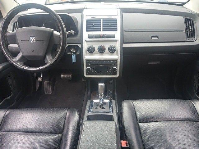 Dodge Journey 2010 Se 2.7 v6 aut/tip+toplinha+couro+cdmp3+revisada+novíssima!!! - Foto 16