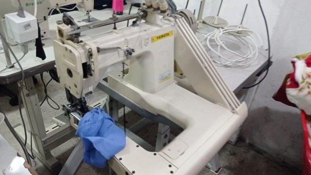 máquina fechadeira 3 agulhas com catraca  - Foto 2