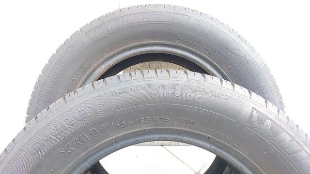 Par de Pneus Michelin  195/65 R15 - Foto 5