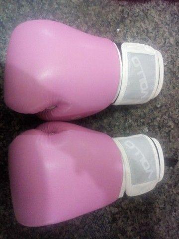 Luva boxe feminina