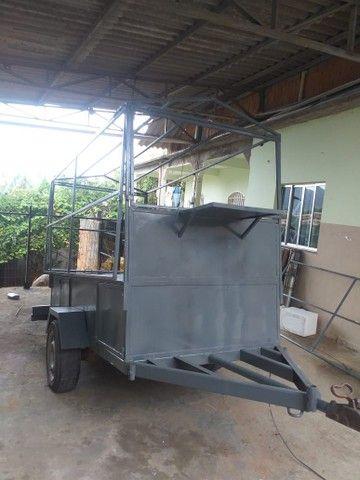 Reboque pra caldo de cana ou churrasquinho - Foto 6