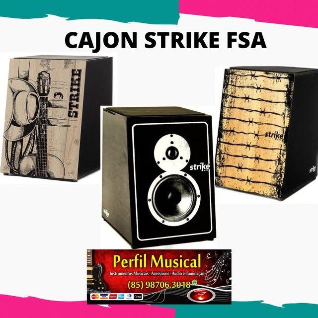 Cajon acústico strike by FSA em promoção fazemos entregas