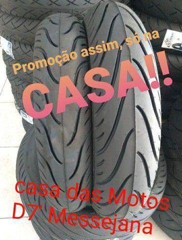 Par de Pneus p/ Nova Twister ou Cb300cc