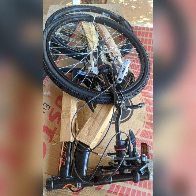 Bike houston stinger aro 26, quadro aço carbono - Foto 2