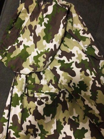 Karpa Militar feminina (SOBRETUDO) + vestido midi  - Foto 2