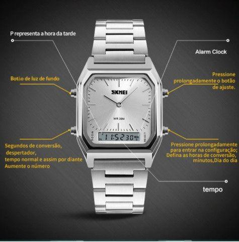Relógio Unissex - Skmei 1220 - Foto 3