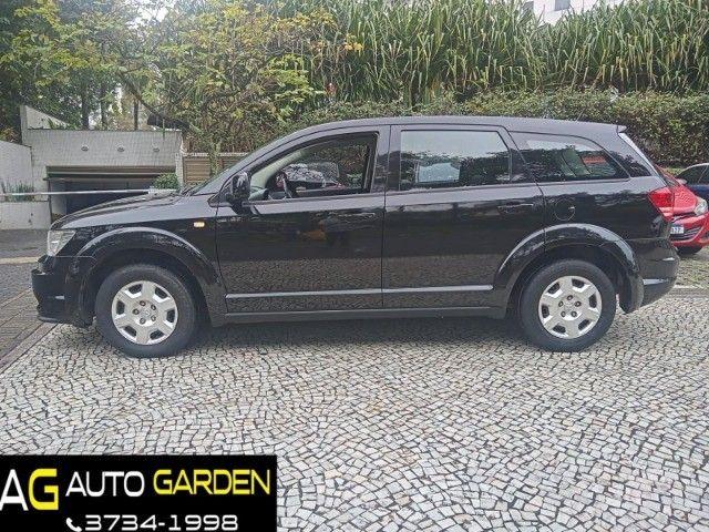 Dodge Journey 2010 Se 2.7 v6 aut/tip+toplinha+couro+cdmp3+revisada+novíssima!!! - Foto 12