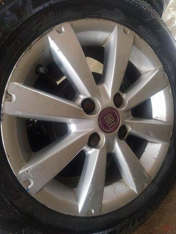 Jogo de roda Fiat aro 14
