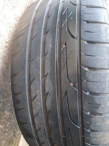 Roda 19 pneu semi novos - Foto 2