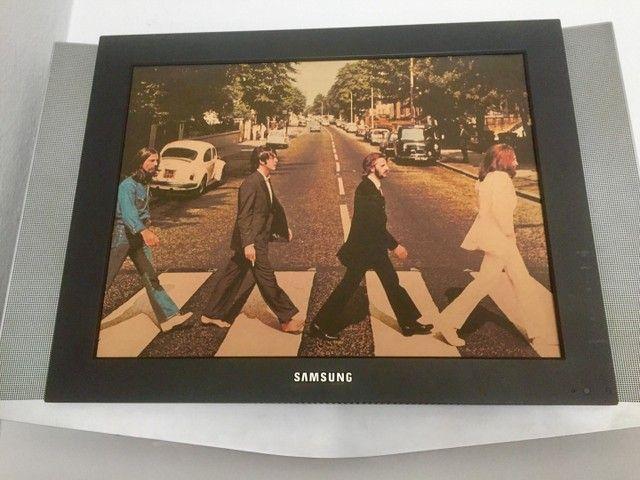 Quadro televisão Beatles