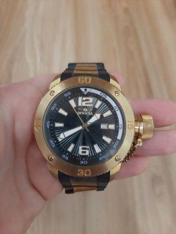 Relógio Invicta Force mod 12964 banhado ouro 18 (Usado)