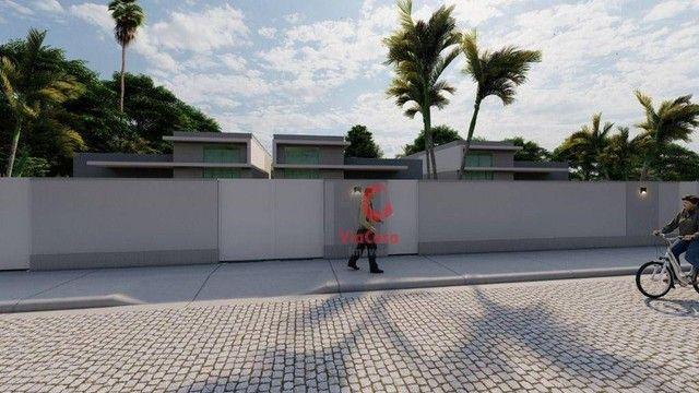 Casa Linear com 3 Quartos Sendo 1 Suíte à venda, 80 m² por R$ 280.000 - Enseada das Gaivot - Foto 11
