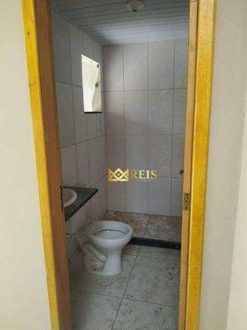 RI Casa Com 2 Dormitórios à Venda, 56 m² Por R$105.000 - Nova Califórnia - Cabo Frio/rj - Foto 7