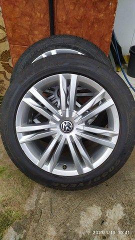Jogo de roda original VW aro 17 - Foto 3