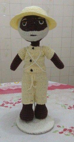 Bonecas em crochê  - Foto 6