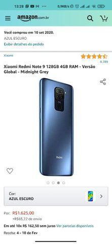 Xiaomi Redmi Note 9 128Gb com Nota Fiscal - Foto 5