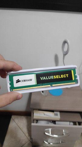 Memória Corsair 4GB, 1600MHz, DDR3, CL11 - CMV4GX3M1A1600C11 - Foto 2