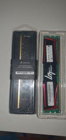 Kit I5 4440 12GB RAM (8 + 4) PLACA H81 - Foto 2