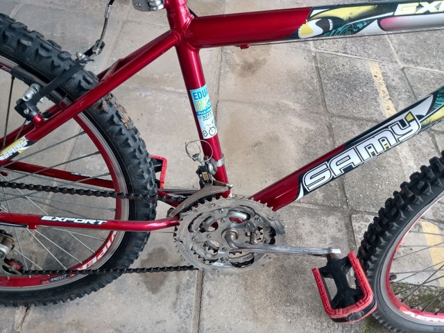 Vende uma bicicleta toda revisada aro 24  - Foto 2