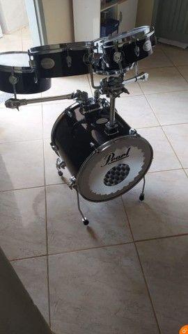 Bateria pearl rhythmn traveler  - Foto 6