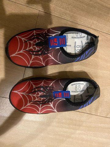Sapato tênis confort flex infantil MZ - Foto 3