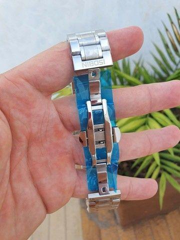 Relógio Nibosi Original Todo Funcional - Foto 3