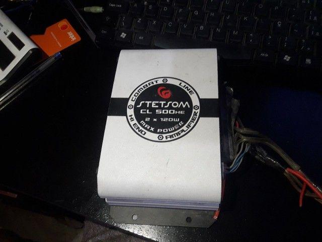 Módulo Potência/amplificador Stetsom Cl500  Max Power