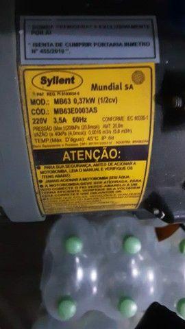Pressurizador de água fria moto bomba syllent. - Foto 3