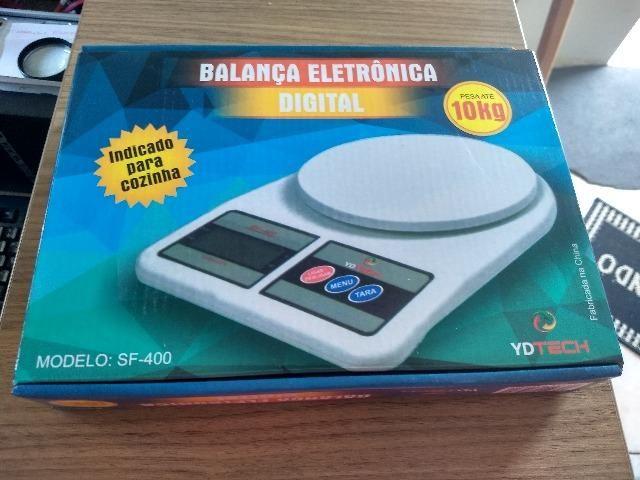 Balança digital de cozinha até 10 kg - Foto 3