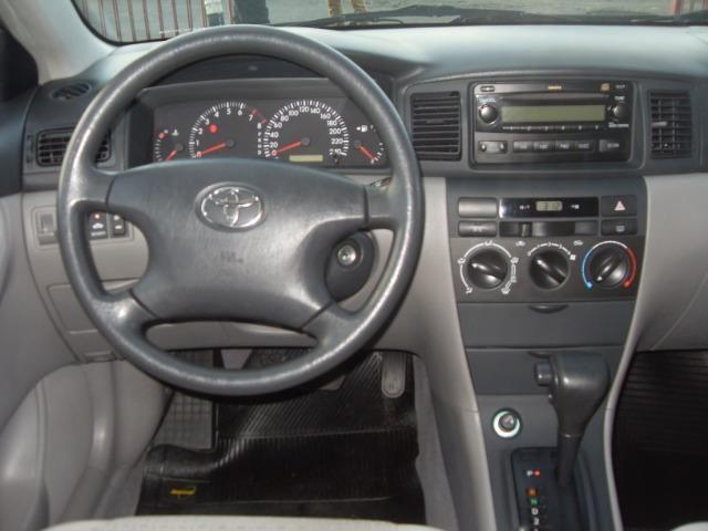 Toyota Corolla xei 1.8 2008 automático - Foto 8