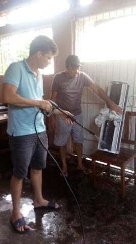 Instalação e manutenção de ar splinter