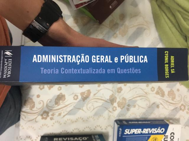 Administração geral e pública - Juspodivm