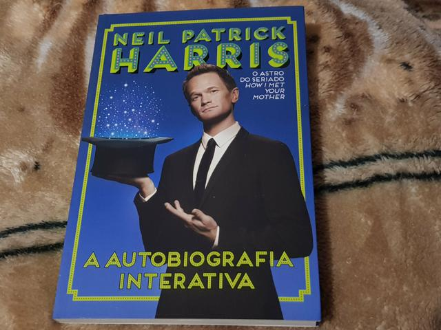 Livro neil patrick harris a autobiografia interativa
