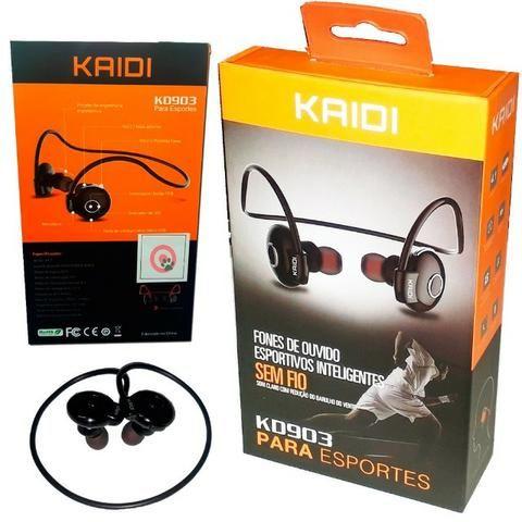Fone esportivo bluetooth Kaidi KD903 - Original