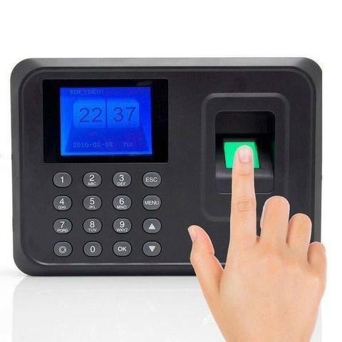 Relógio Ponto Biométrico Impressão Digital Pronta Entrega R$199
