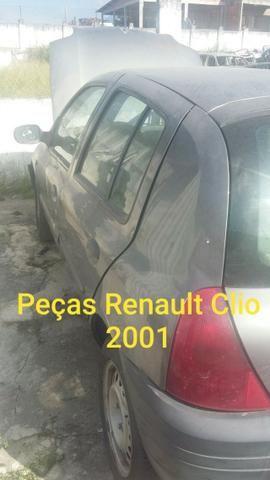 Sucata Renault Clio 2001