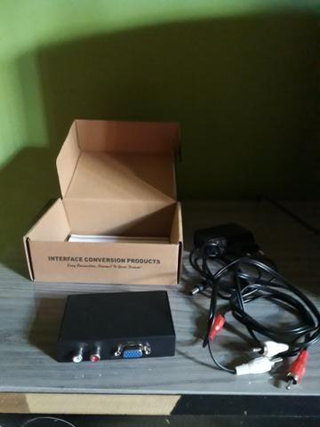 Adaptador VGA pra HDMI de pc - Foto 2