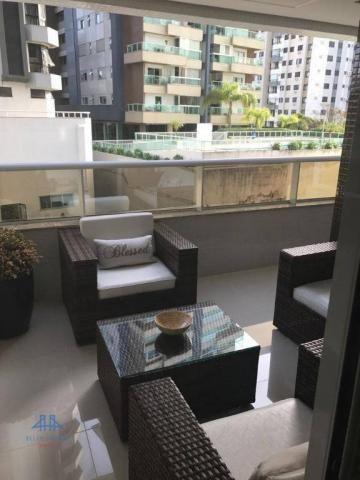 Apartamento alto padrão, à venda, 144m² privativos - 02 vagas- centro - florianópolis/sc