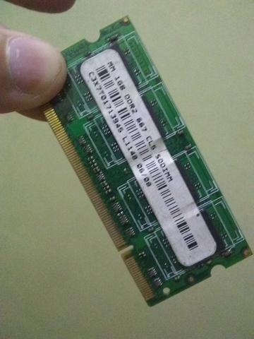Memória de nout book 1GB