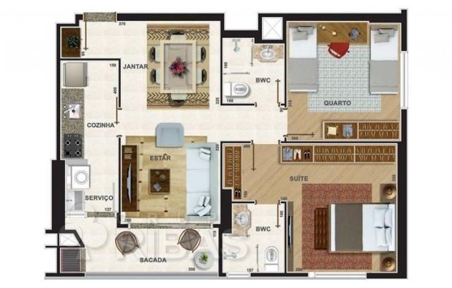 Apartamento residencial à venda, novo mundo, curitiba - ap0329. - Foto 17