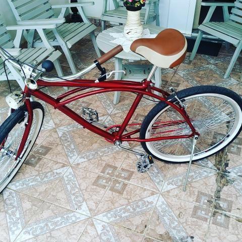 Bicicleta Custon Retrô (Nova) - Foto 2
