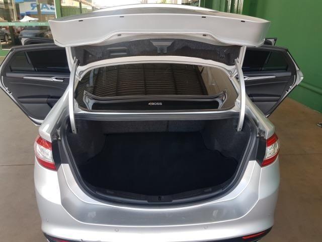 Ford fusion titanium awd 4x4 automatico 2014/2015 prata completo + teto-solar - Foto 11