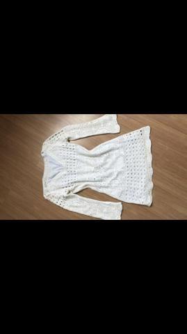Lindo vestido tricô TAM P TORRANDO