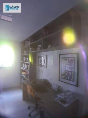Apartamento com 3 dormitórios à venda, 110 m² por r$ 580.000 - jatiúca - maceió/al - Foto 8