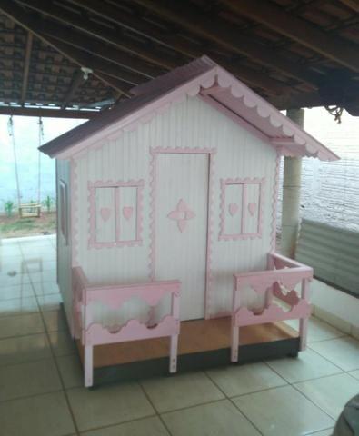 Casinha de Madeira Infantil - Foto 2