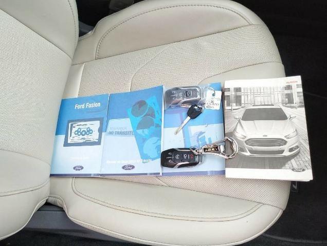 Ford\Fusion 2.0 Titanium 2.0 Turbo GTdi AWD - Top de Linha - Seminovo - Foto 8