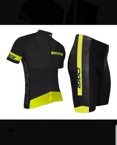 Kit ciclismo oggi camisa+bermuda tam (GGx)