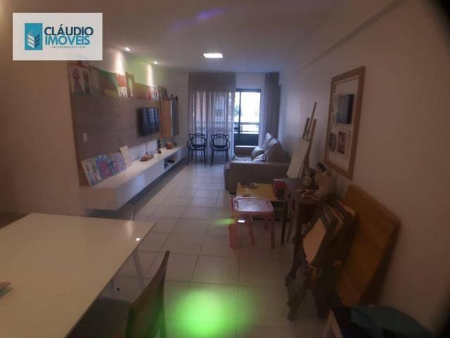Apartamento com 3 dormitórios à venda, 110 m² por r$ 580.000 - jatiúca - maceió/al - Foto 16