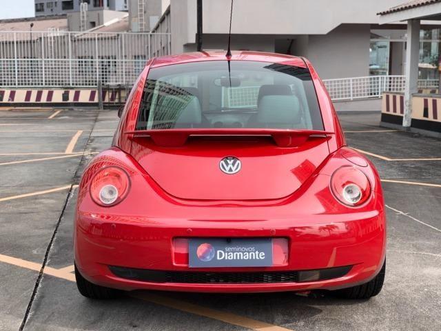 Raridade! New Beetle Aut. 2007 com couro, mídia android e teto solar. Tel: * - Foto 9