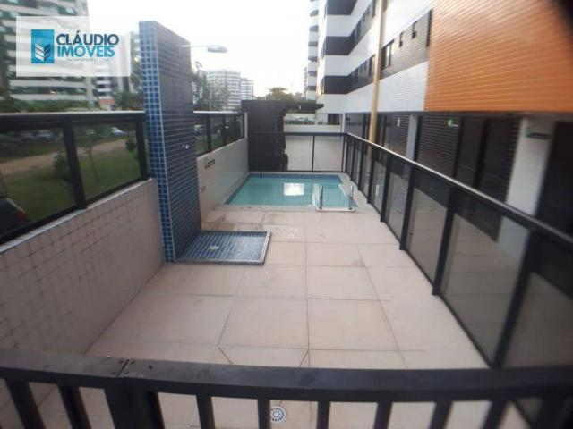 Apartamento com 3 dormitórios à venda, 110 m² por r$ 580.000 - jatiúca - maceió/al - Foto 3